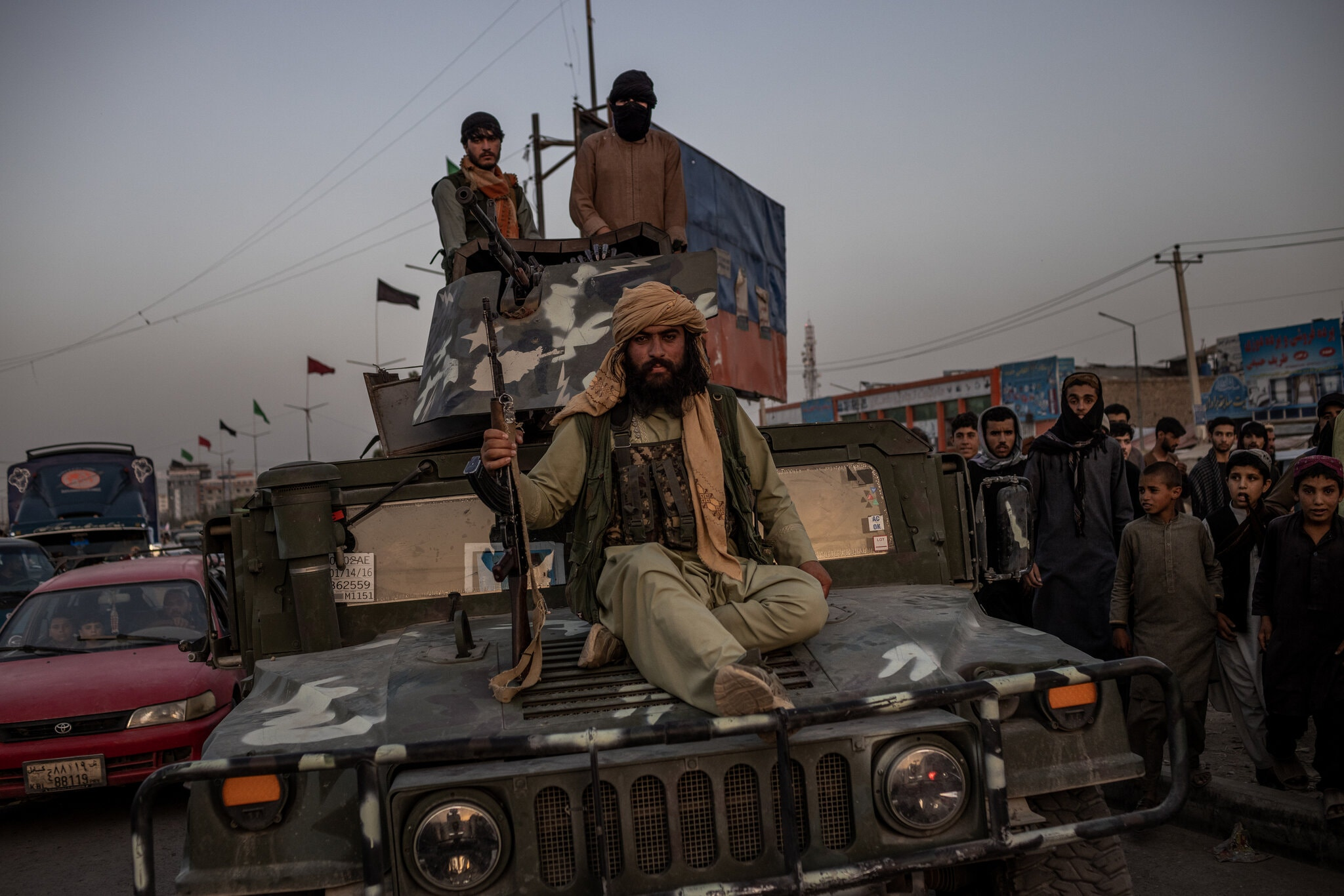 Kabul's Sudden Fall to Taliban Ends U.S. Era in Afghanistan