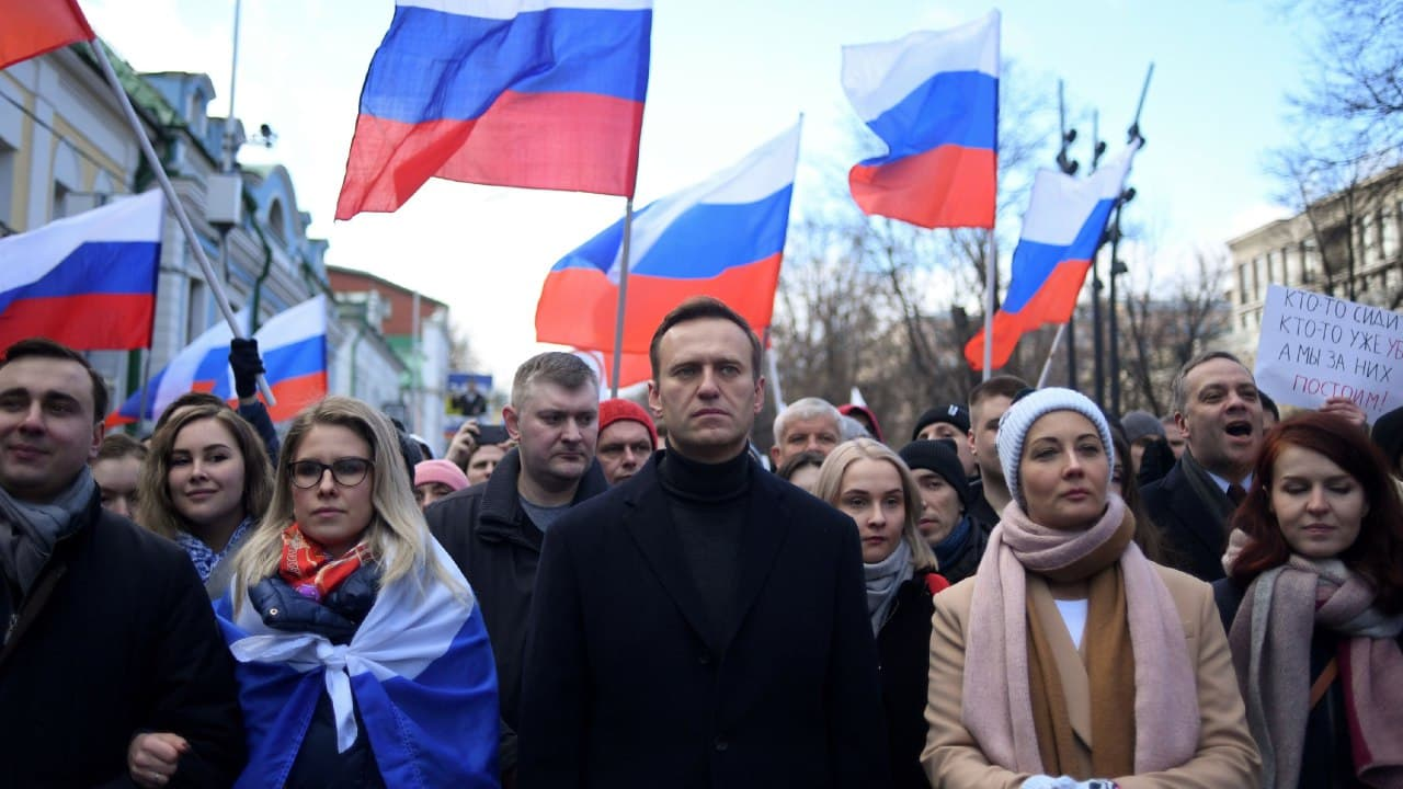 Aleksei A. Navalny, the Russian opposition leader