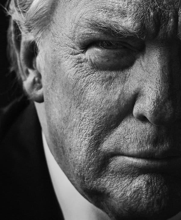 دونالد ترامپ رئیسجمهور چهلوپنجم آمریکا