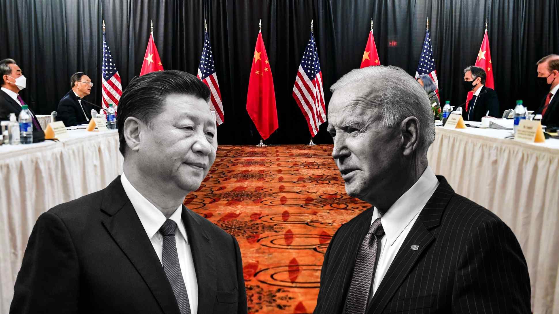 نبرد ارقدرتها / چین و آمریکا و چین