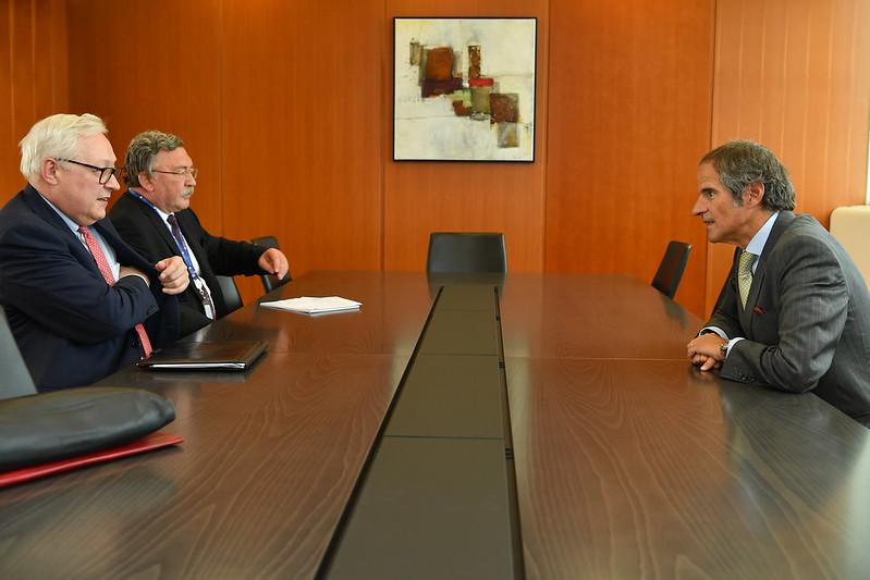 IAEA's Grossi heads to Iran