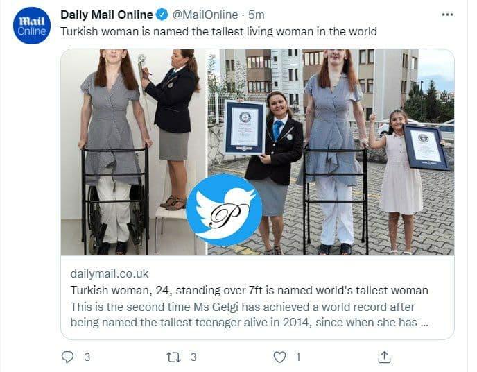 قدبلندترین زن دنیا