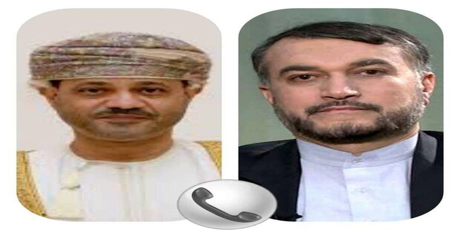 جزئیات گفتگوی تلفنی امیرعبداللهیان با وزیرخارجه عمان