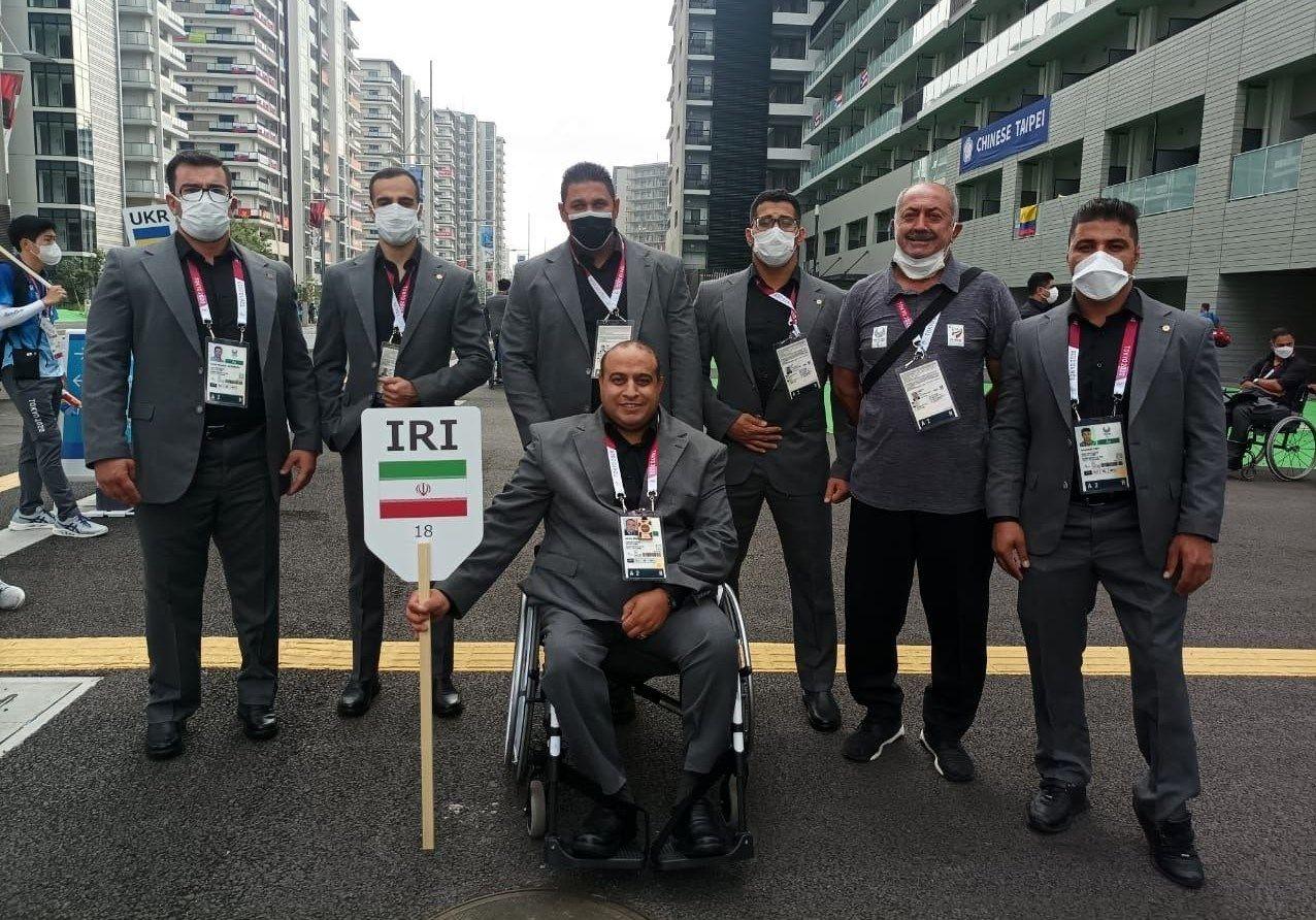رونمایی از لباس کاروان ایران در مراسم افتتاحیه پارالمپیک/عکس