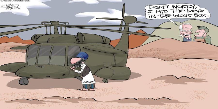 هدایای بایدن به طالبان را ببینید! + عکس