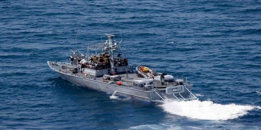 نقض حریم آبی لبنان توسط قایق جنگی اسرائیل