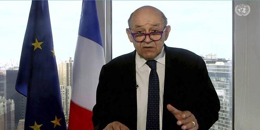 وزیرخارجه فرانسه: باب گفتوگوها با ایران تا ابد باز نخواهد بود!