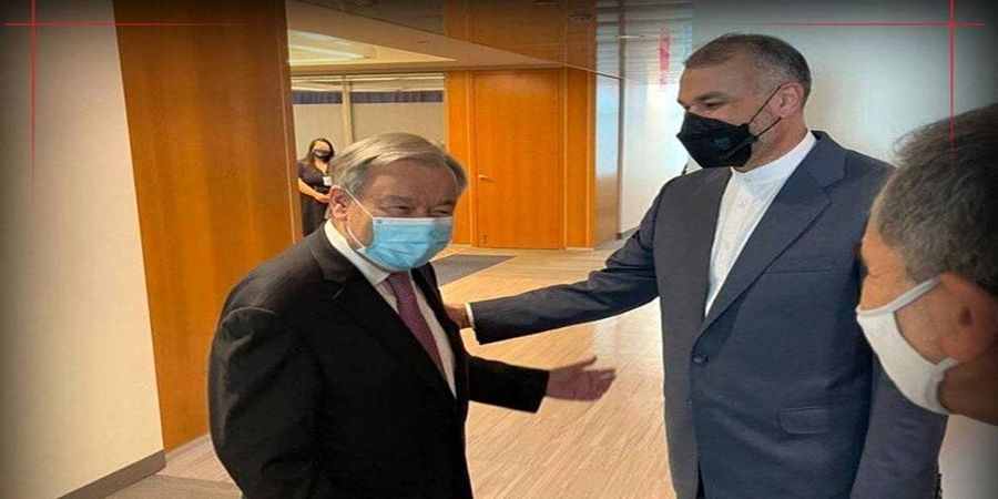 در دیدار  امیرعبداللهیان با دبیر کل سازمان ملل چه گذشت؟