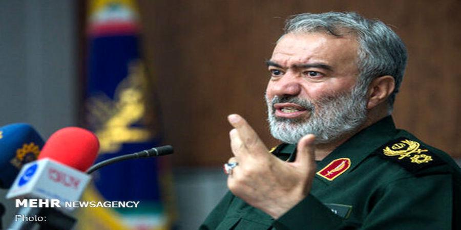 سردار فدوی: ایران در خلیج فارس قدرت خود را به آمریکا دیکته کرد