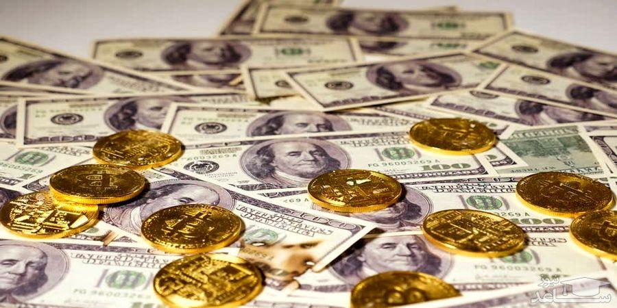 دلار مرز 28 هزار تومان را حفظ کرد /سکه ارزان شد