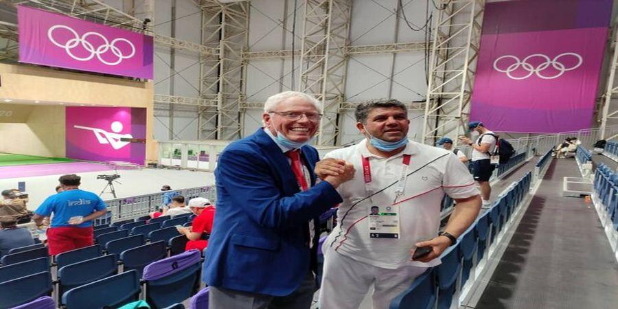 تبریک رییس فدراسیون آمریکا به خاطر طلای فروغی در المپیک