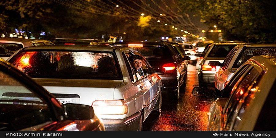 ۹ عامل ترافیک در پاییز +فیلم
