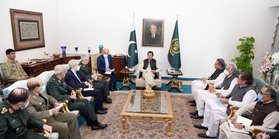 جزئیات دیدار عمران خان و سردار باقری در اسلام آباد