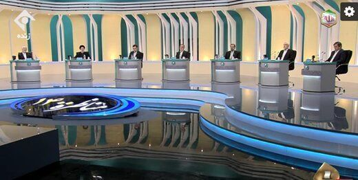 مناظره دوم ریاستجمهوری سیزدهم؛ حمله زاکانی، رئیسی، جلیلی به دولت روحانی