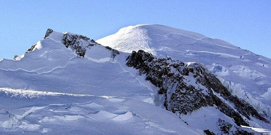 بلندترین قله اروپای غربی در رشته کوه آلپ آب رفت