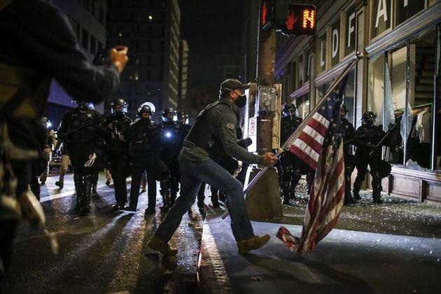 ناآرامیهای پس از انتخابات آمریکا
