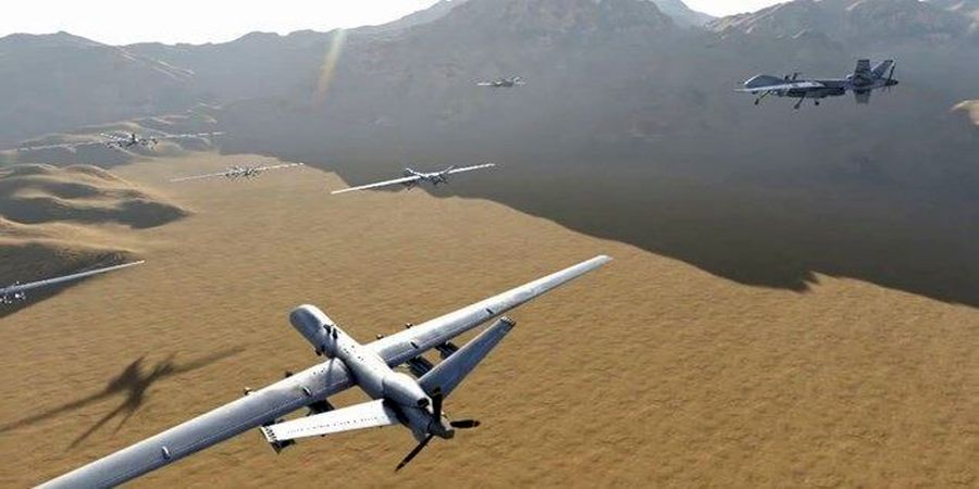 حمله هوایی گسترده به خاک عربستان