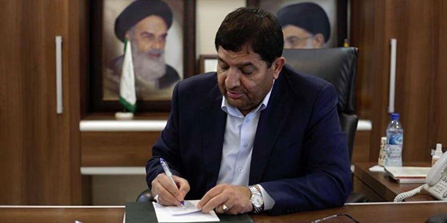 محمد مخبر  پیام جدید صادر کرد