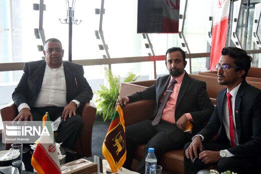 ورود مقامات شرکتکننده در مراسم تحلیف رییس جمهوری