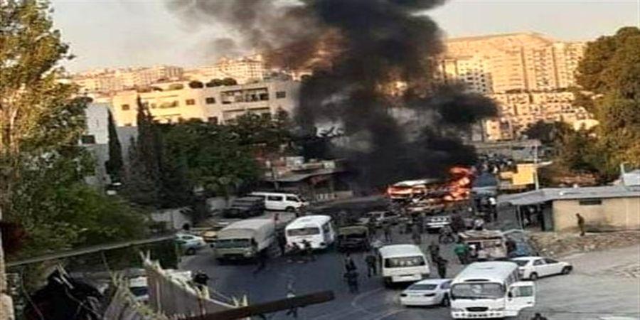 وقوع انفجار مهیب  در شرق بغداد