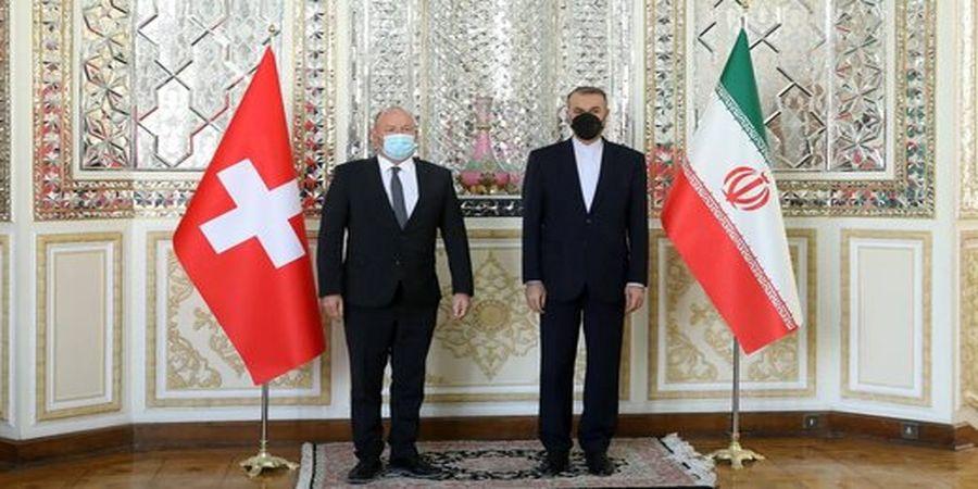 در دیدار امیرعبداللهیان با رئیس مجلس ملی سوئیس چه گذشت؟+عکس