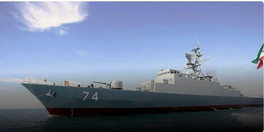 ورود ناوهای ایرانی ارتش به سنت پترزبورگ روسیه