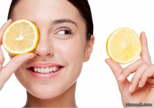 فواید لیمو ترش برای پوست