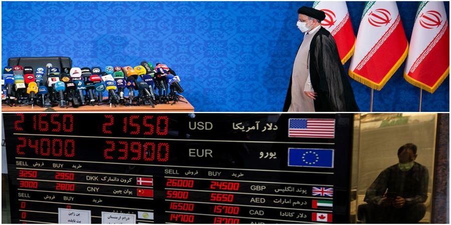 بازی سیاسی در بازار ارز/ قیمت دلار پس از اولین نطق رئیسی
