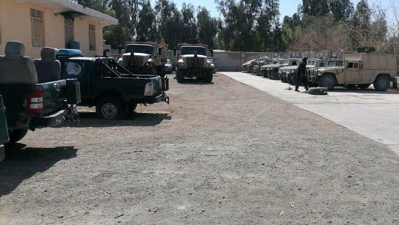 مرکز ولایت نیمروز در افغانستان به دست طالبان سقوط کرد