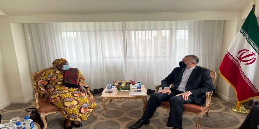 رایزنی  امیرعبداللهیان با وزیر امور خارجه نامیبیا