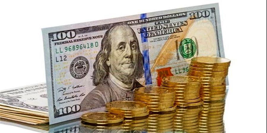 دلار صعودی شد /دلار جای طلا را برای سکه پُر کرد