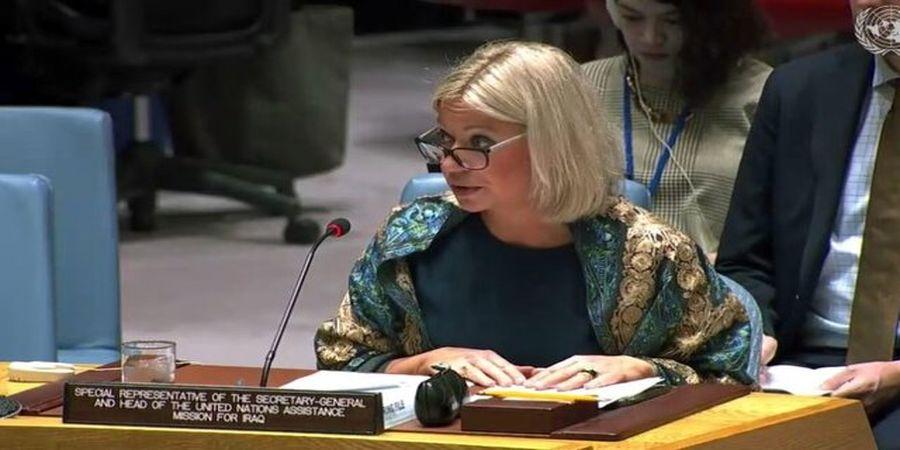 سازمان ملل تأیید نتایج انتخابات را بر عهده نهادهای عراقی دانست