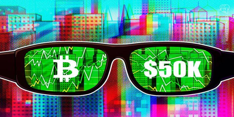 بیت کوین مرز ۵۰ هزار دلاری را شکست