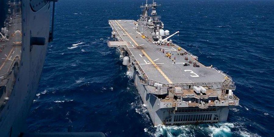 خسارت 2.5 میلیون دلاری به ناو آبی-خاکی نیروی دریایی آمریکا