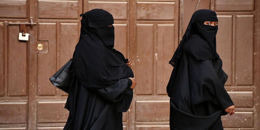 تجمع اعتراضی تعدادی از زنان در کابل مقابل وزارت سابق امور زنان