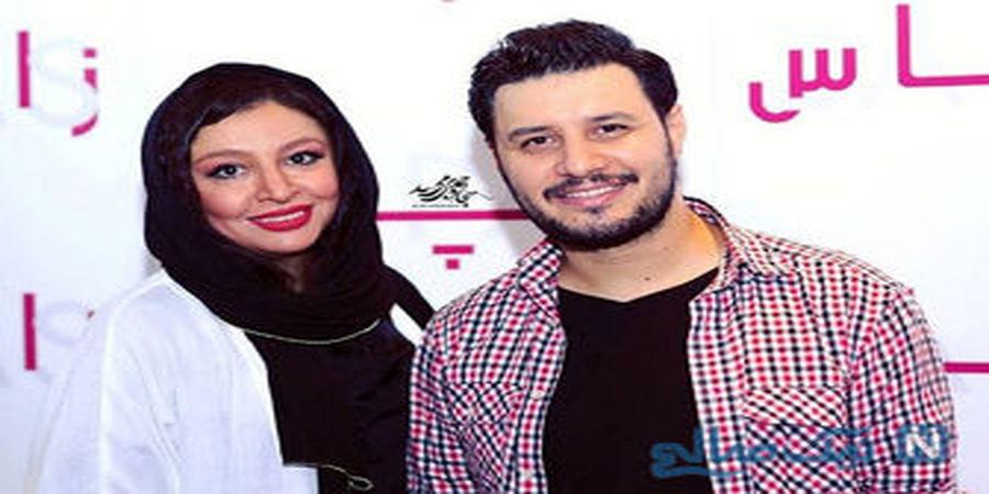 عکس جواد عزتی و همسرش در تورنتو