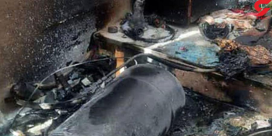 انفجار بزرگ در منطقه فرودگاه زنجان + عکس