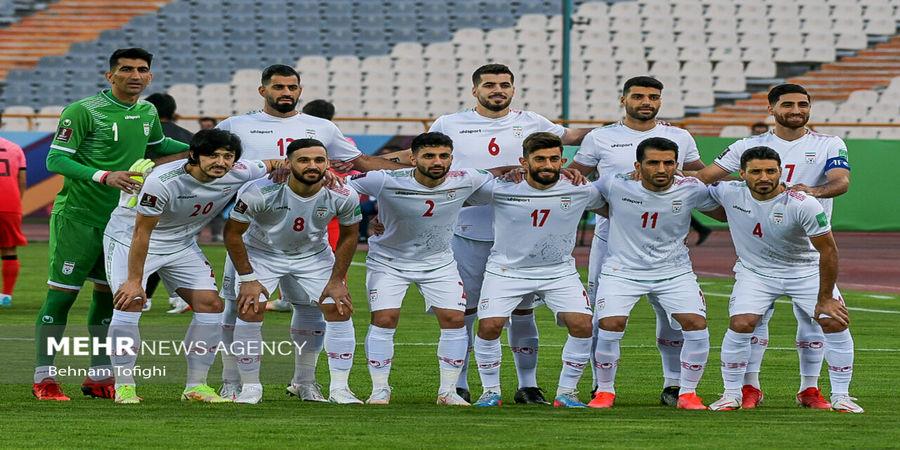 تصاویر| دیدار تیم های فوتبال ایران و کره جنوبی