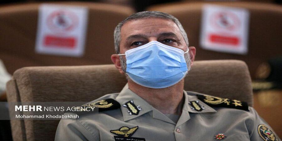 خط و نشان فرمانده کل ارتش برای دشمنان