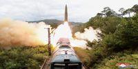 جزئیاتی از شلیک موشک کرهشمالی از روی قطار