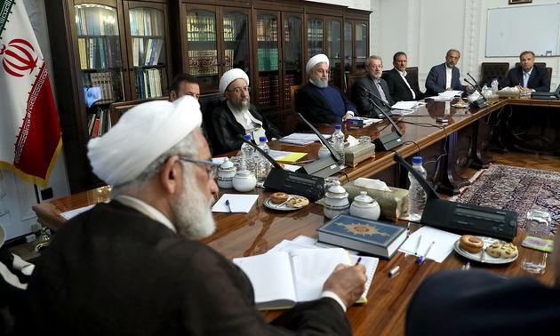 جلسه شورای عالی هماهنگی اقتصادی با حضور سران ۳ قوه