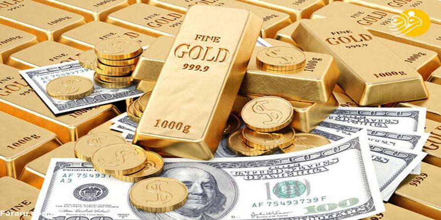 حساسیت در بازار ارز /سکه گرفتار اونس شد