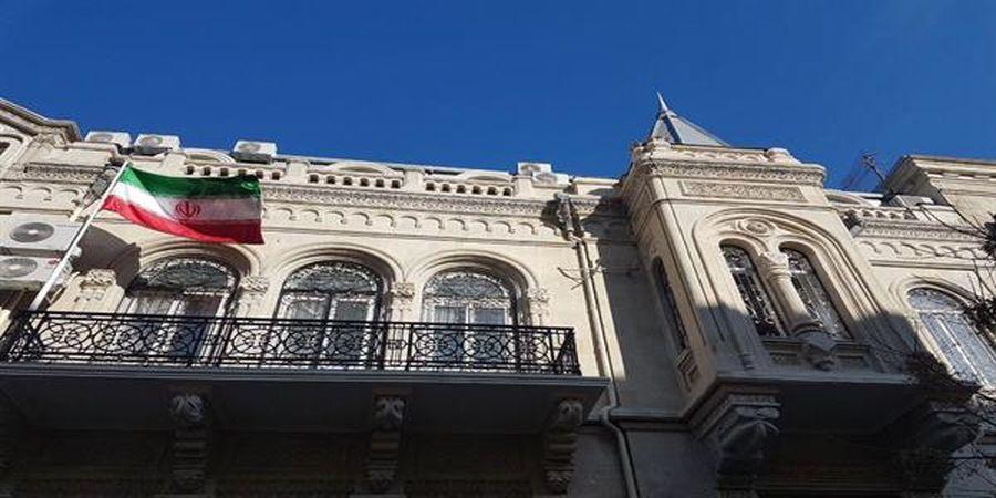 تعرض شبانه به سفارت ایران در باکو !