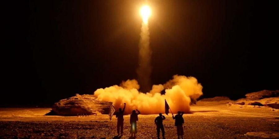 حمله پهبادی و موشکی یمن به عربستان