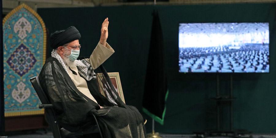 حضور رهبری در مراسم عزاداری اربعین حسینی