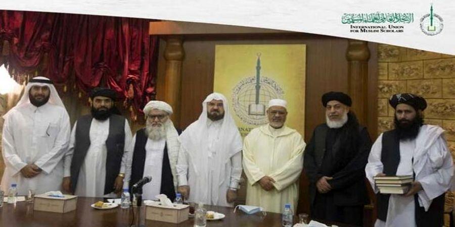 """هیئت طالبان با """"علمای مسلمان"""" دیدار کرد"""