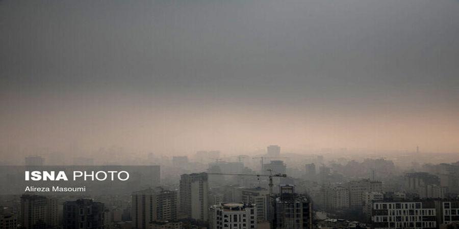 هشدار وزارت بهداشت ؛ کیفیت هوای تهران در شرایط «خطرناک»
