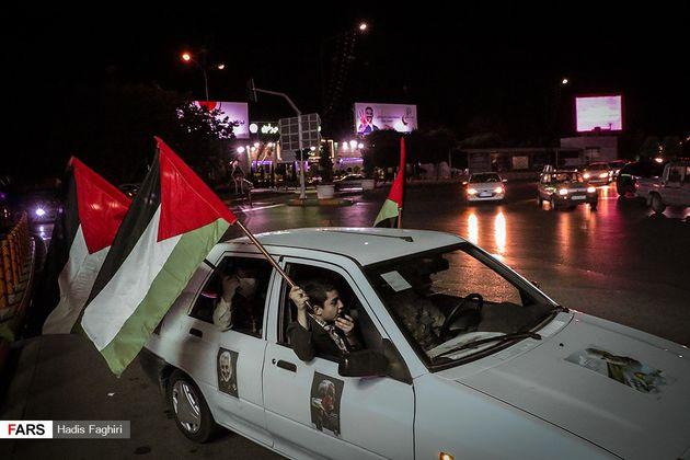 راهپیمایی خودرویی همبستگی با ملت فلسطین