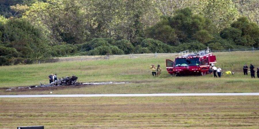سقوط یک هواپیما /چهار نفر کشته شدند