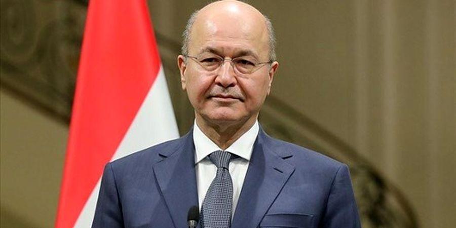 خبر تازه برهم صالح: گفتوگوهای ایران و عربستان پیشرفت خوبی داشته است